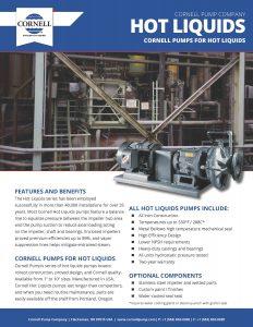 Cornell Pump Company Hot Oil Pumps
